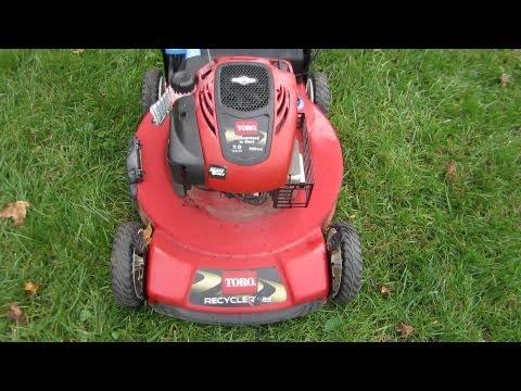 Toro Recycler 7 HP Lawn Mower Repair - A Free Craigslist Find - Part I - Nov 18, 2012