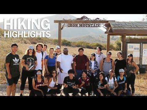 Grossmont College International Students Club - Iron Mountain Trail Hiking