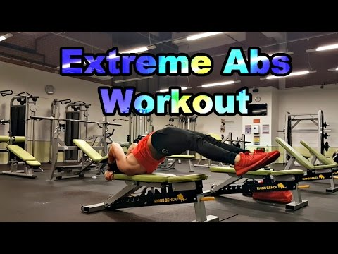 Extreme Six Pack Abs Workout | Ralph Winter