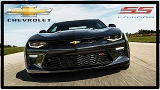2017 Chevrolet Camaro SS Hard launch 4K UHD