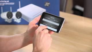 ABUS draadloze videobewakingsset (draadloze bewakingscamera's, recorder & app)