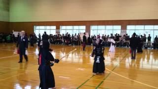 西郷菊次郎大会 達郎 団体二回戦