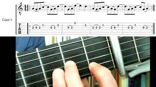 Bóng mưa - Hướng dẫn intro guitar - Hà Anh Tuấn
