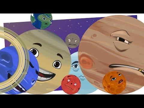Lecimy w kosmos - słodkie planety