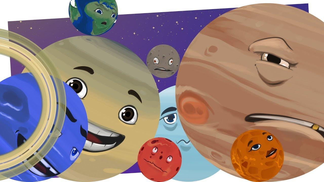 W Układzie Słonecznym Piosenka Edukacyjna Dla Dzieci O