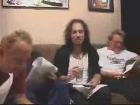 Metallica - Jump in the Studio: Hero of the Day (April 7, 2003)