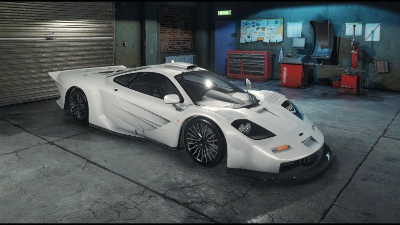 car mechanic simulator 2018 - mclaren f1 gt - restoration, upgrades