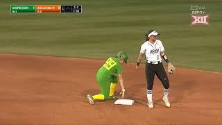 Oregon at Oklahoma State Softball Highlights