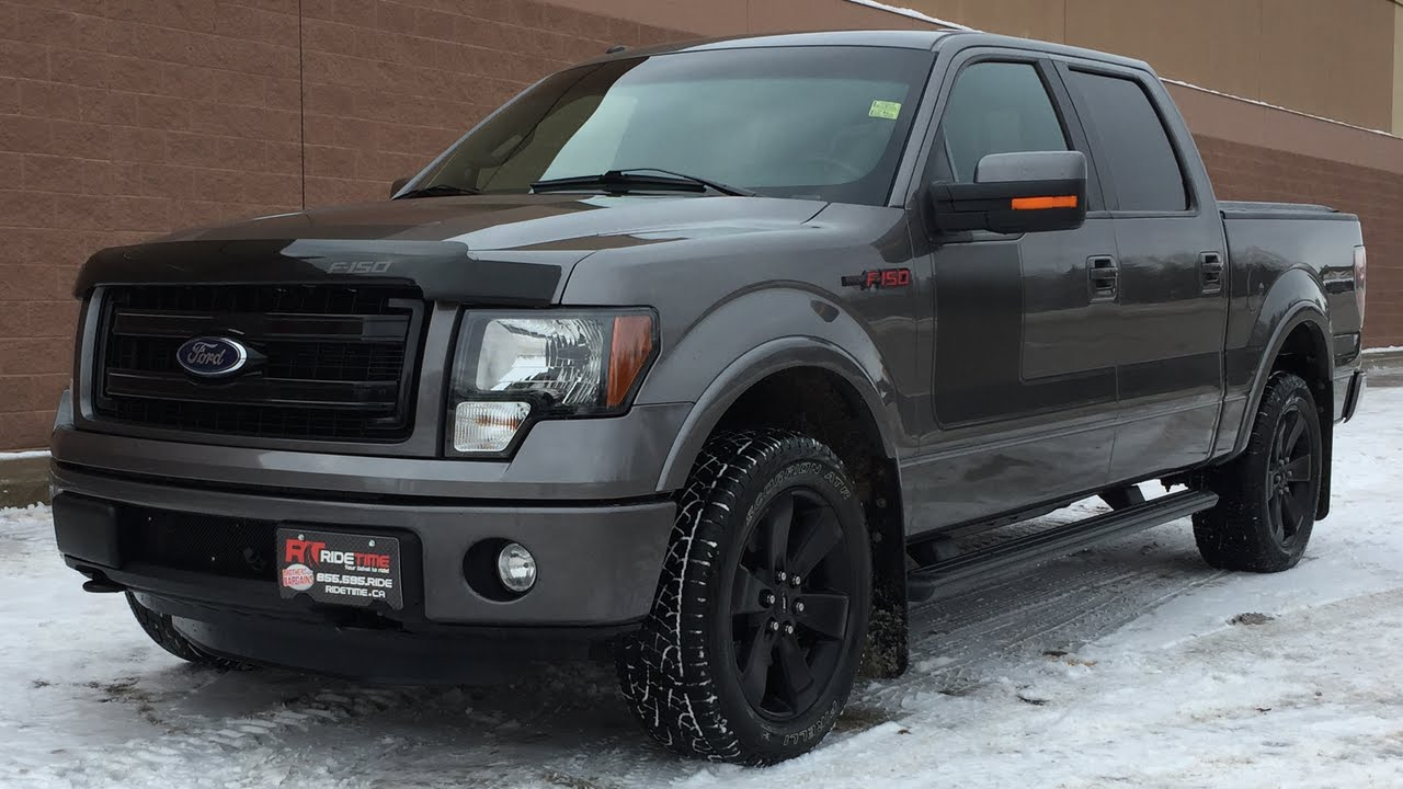 2013 ford f 150 fx4 crew appearance pkg w leather sunroof backup camera black 20in wheels youtube