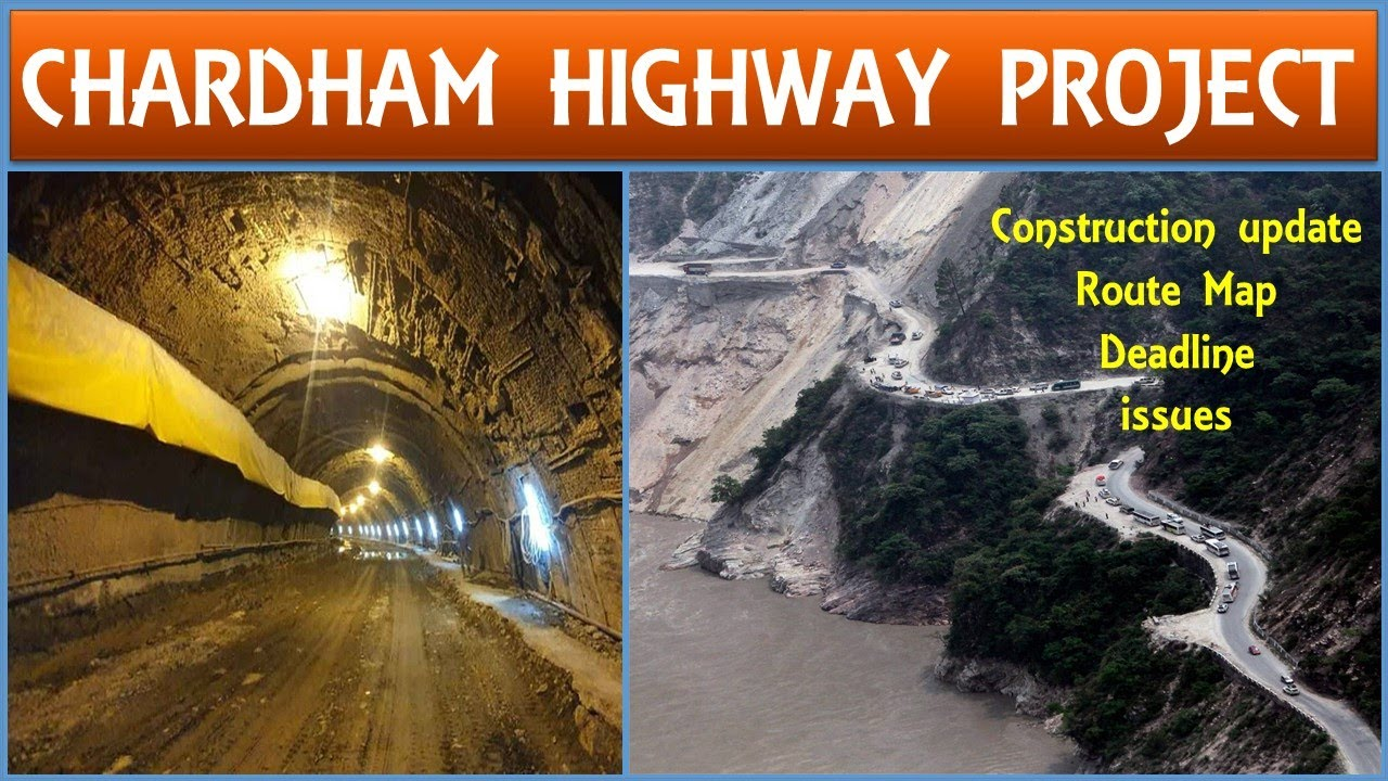 Char Dham Highway Project | Char Dham Yatra Road construction in Uttrakhand | Papa Construction
