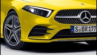 2019 A-class w177 AMG Line new color sunny yellow uni