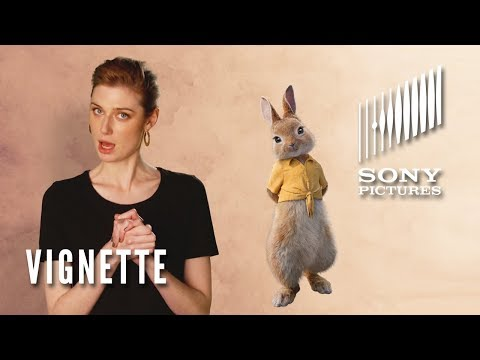 PETER RABBIT Vignette  Elizabeth Debicki as