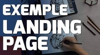 Exemple landing page pour vendre son produit #386