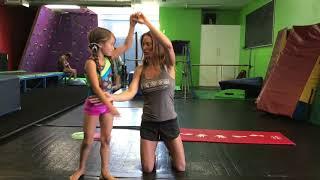 How to spot a cartẁheel when you teach your child a cartwheel