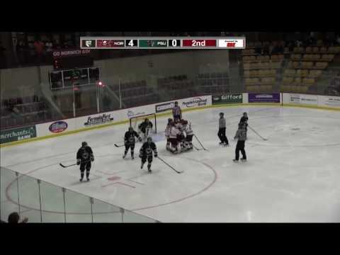 Plymouth State at Norwich University NEHC Women's Hockey Quarterfinal Highlight