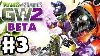 Plants vs. Zombies: Garden Warfare 2 Beta - Gameplay Part 3 - Suburbination! (PvZGW2 Beta)