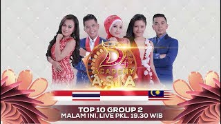 Saatnya Result Show! Saksikan Dacademy Asia 4 Top 10 Group 2 Result Show