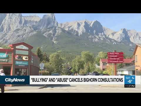 Bighorn Country public consultations canceled