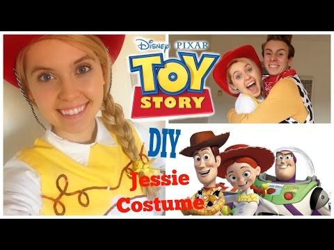 DIY Disney Toy Story Jessie Costume! Easy And Affordable!