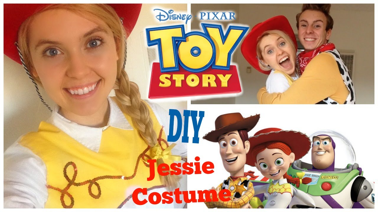 Diy disney toy story jessie costume easy and affordable youtube solutioingenieria Images