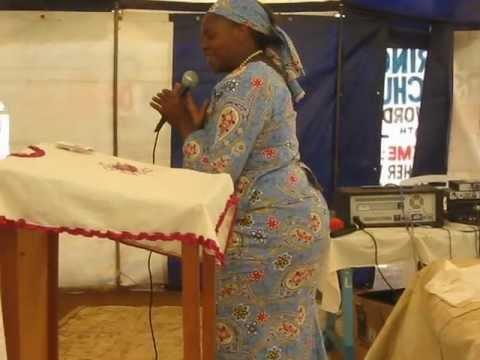 KENYA PASTORS CONFERENCE SINGING IN SLUMS OF ELDORET, KENYA - Jim Durham