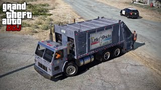 GTA 5 Roleplay - DOJ 155 - Trash Delivery (Criminal)