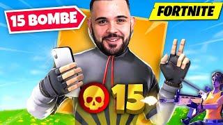 Fortnite : 15 Bombeeeeeeee 😱
