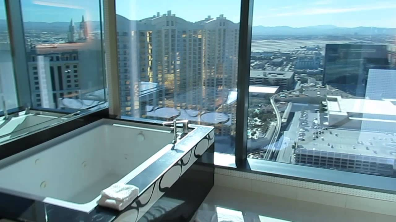 Las Vegas Hotels Suites 3 Bedroom 3 Bedroom Premier Suite Elara Las Vegas Youtube