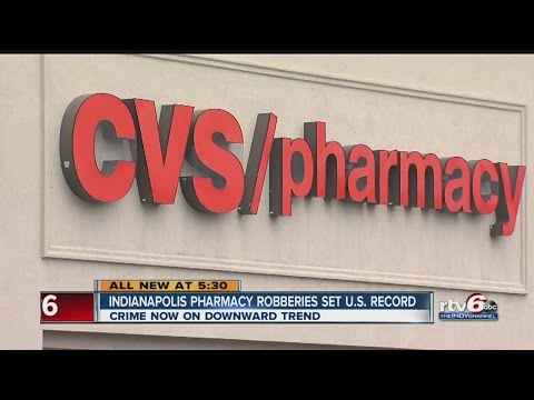 Pharmacy robbery problem solved in one area; moves to another