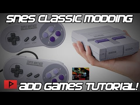 [How To] Mod SNES Classic - Add More SNES Games Tutorial
