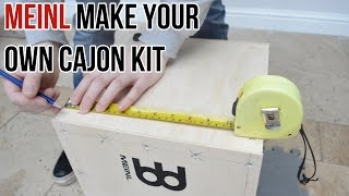 Meinl Make Your Own Cajon Kit - Full How To & Review