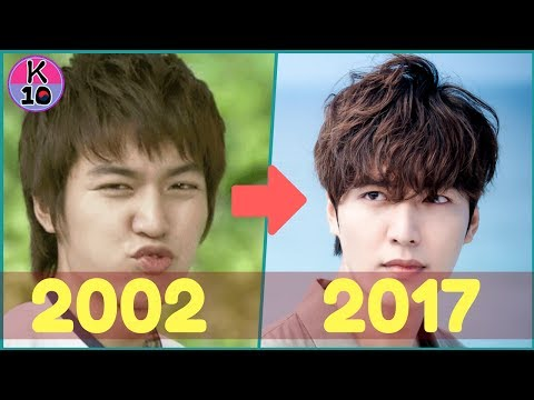 LEE MIN HO EVOLUTION 2002-2017