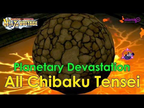 [NxB] All Planetary Devastation Chibaku Tensei Ultimate Jutsu | All Shinobi With Chibaku Tensei