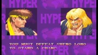 【TAS】Hyper Street Fighter II RYU