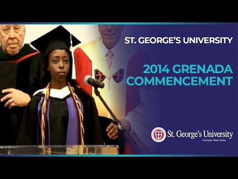 St. George's University's 2014 Grenada Commencement
