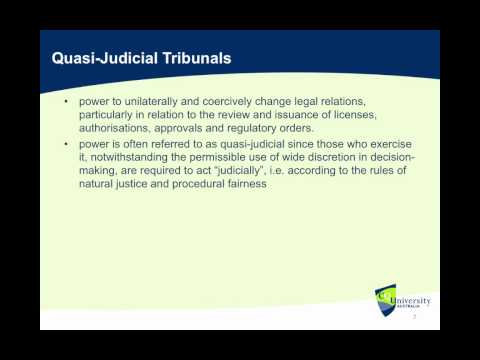 Separation Of Judicial And Non-Judicial Powers (Australian Constitutional Law)