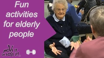 Fun activities for elderly people