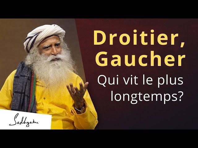 Quelle est la différence entre la main gauche droite et la main gauche ? | Sadhguru Français