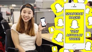 Are you into the snapchat craze! Here are some snapchat hacks that ...