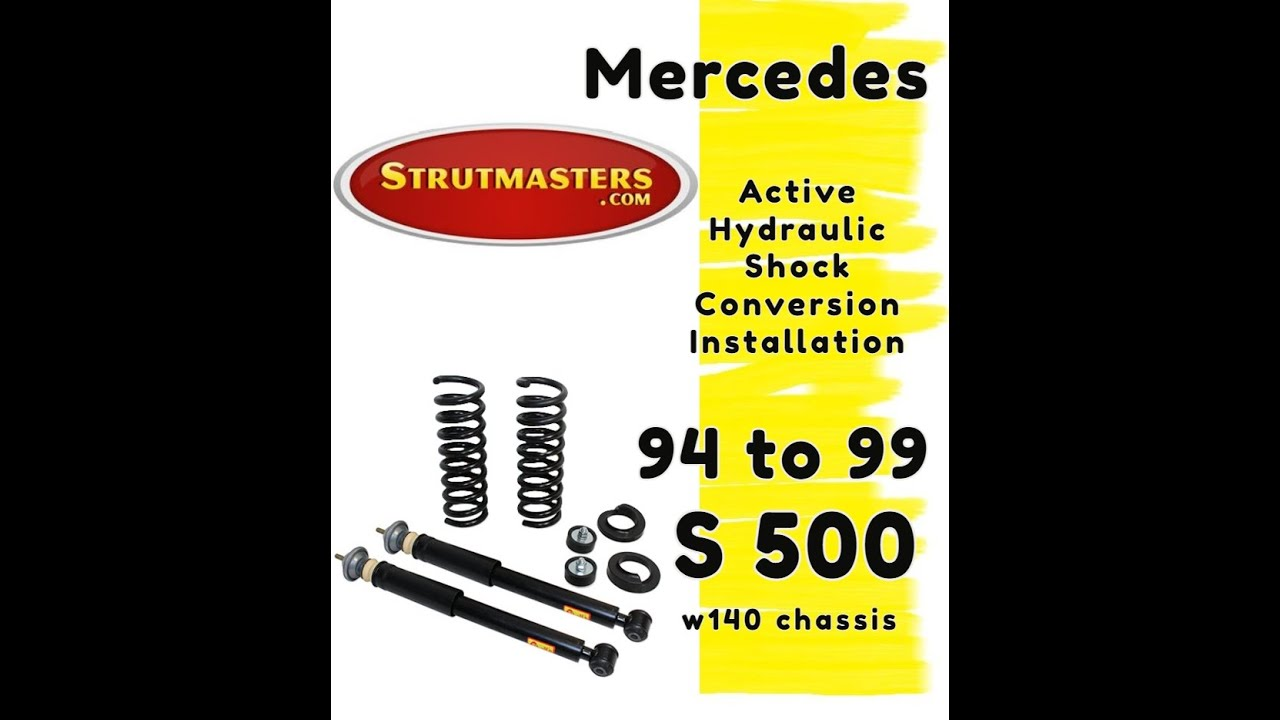 How To Fix The Rear Suspension On A Mercedes S500 Youtube 2001 S430 Car Wiring Harness Diagram