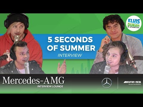 5 Seconds of Summer on New Music, Puppies, and Secret Talents | Elvis Duran Show