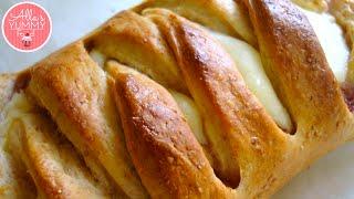 Cheese & Lemon Filled Sweet Braid Recipe  Плетенка с творогом