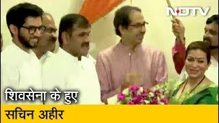 Mumbai NCP को बड़ा झटका, Shiv Sena में …