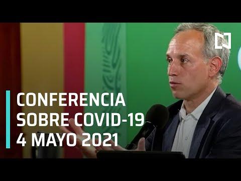 Informe Diario Covid-19 en México - 4 mayo 2021