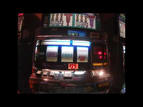 $10,000 Through A $25 Dollar Triple Triple Slot Machine...4 Handpays
