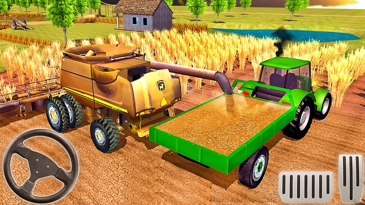 Farming Simulator 2018 - Tractor Driving - Android GamePlay