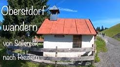 Oberstdorf wandern vom Söllereck nach Riezlern
