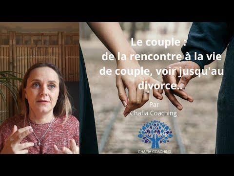 Le couple : de la rencontre à la vie de couple, voir jusqu'au divorce....