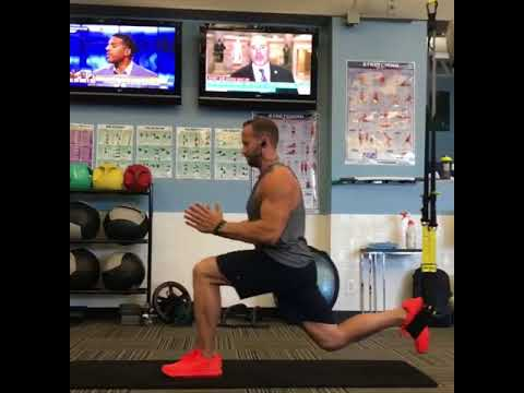 TRX Monday Move | TRX Suspended Lunge w/ Saw