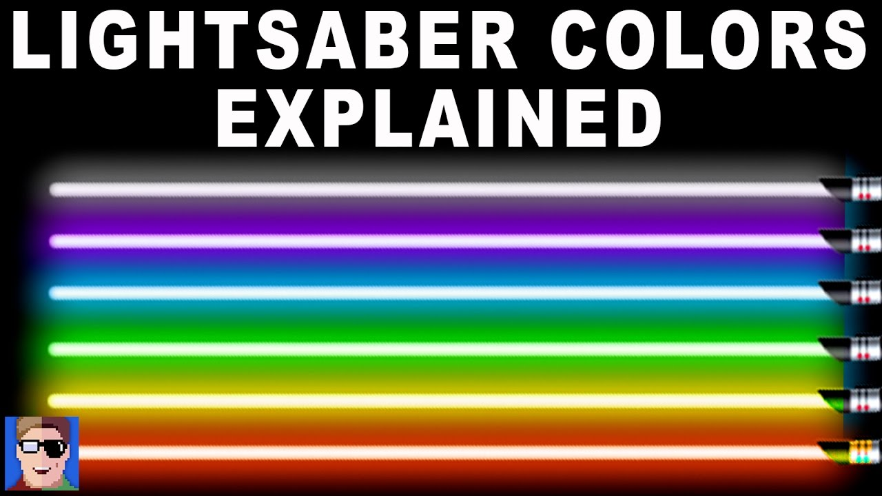 Star wars lightsaber colors explained youtube biocorpaavc